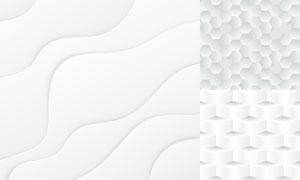 几何图形抽象背景创意矢量素材集V86