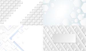 几何图形抽象背景创意矢量素材集V87