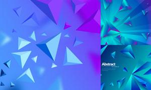 几何图形抽象背景创意矢量素材集V88