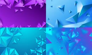 几何图形抽象背景创意矢量素材集V89
