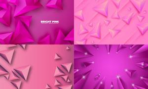 几何图形抽象背景创意矢量素材集V91