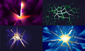 几何图形抽象背景创意矢量素材集V93