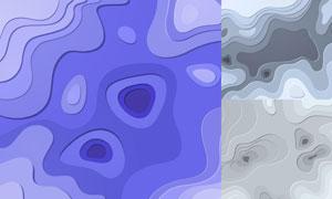 几何图形抽象背景创意矢量素材集V96