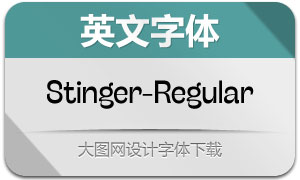 Stinger-Regular(英文字体)