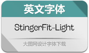 StingerFit-Light(英文字体)