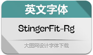 StingerFit-Regular(英文字体)