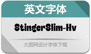 StingerSlim-Heavy(英文字体)