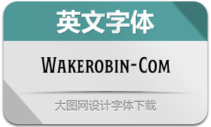 Wakerobin-Compressed(英文字体)