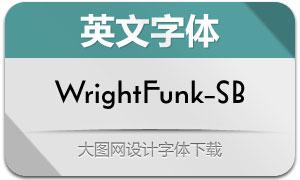 WrightFunk-SemiBold(英文字体)