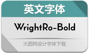 WrightRoman-Bold(英文字体)