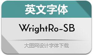 WrightRoman-SemiBold(英文字体)