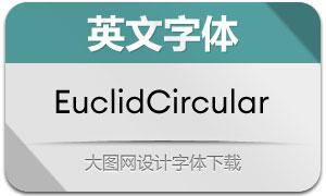 EuclidCircular系列20款英文字体