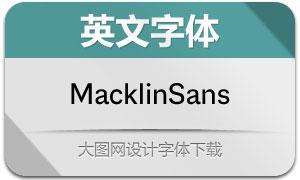 MacklinSans系列18款英文字体