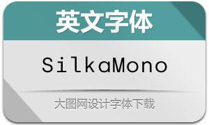 SilkaMono系列16款英文字体