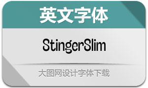 StingerSlim系列10款英文字体