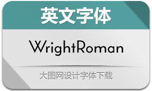 WrightRoman系列11款英文字体