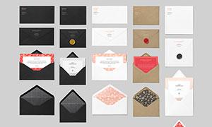 信封与名片授权书等样机模板源文件