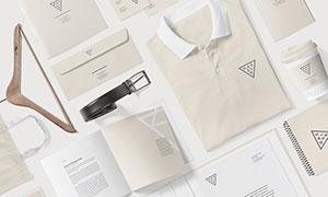 画册内页与衣服等样机模板分层素材