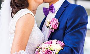 甜蜜幸福恋人主题婚纱摄影高清图片