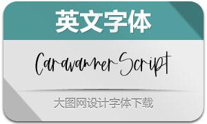 CaravannerScript(英文字体)