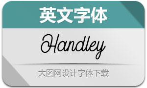 Handley-Regular(英文字体)
