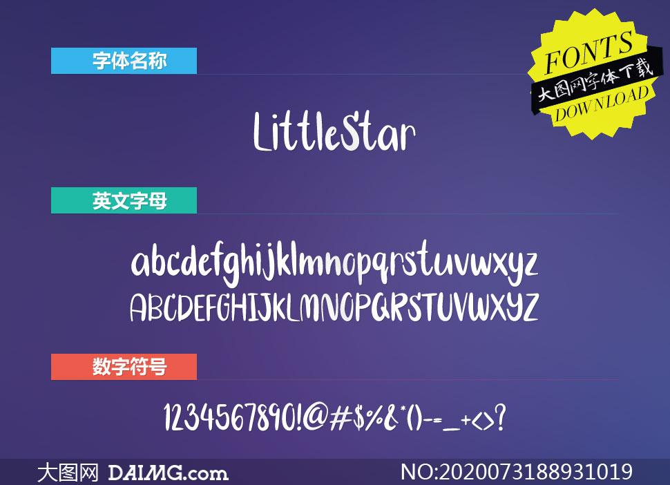 LittleStar(英文字体)