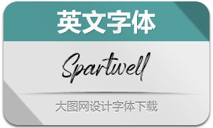 Spartwell(英文字体)