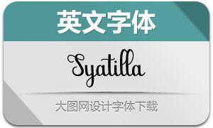 Syatilla(英文字体)