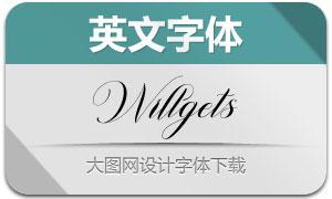 Willgets(英文字体)