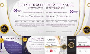 多种多样的授权书与证书等素材V206