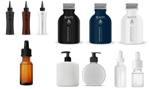 护肤用品包装效果样机设计矢量素材