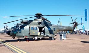 �?康奈溲b直升機高清攝影圖片