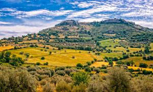 意大利西西里島風光美景攝影圖片
