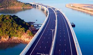 港珠澳大橋景觀攝影圖片