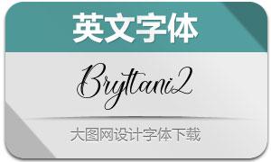 Bryttani2(英文字体)