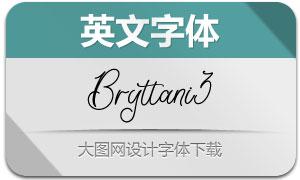 Bryttani3(英文字体)