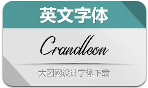 Crandleon(英文字体)