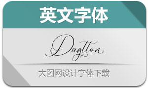 Dagtton(英文字体)
