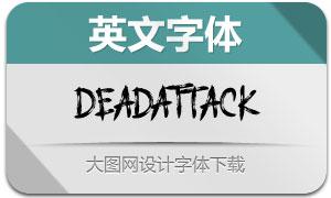 DEADATTACK(英文字体)
