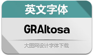 GRAltosa(英文字体)