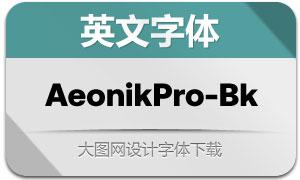 AeonikPro-Black(英文字体)