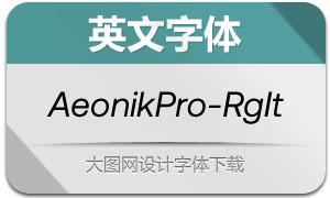 AeonikPro-RegularItalic(英文字体)