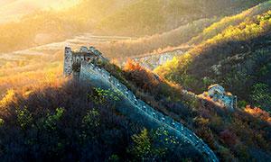 秋季长城美景高清摄影图片