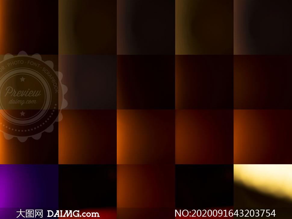 漏光光效元素合成叠加高清图片集V02