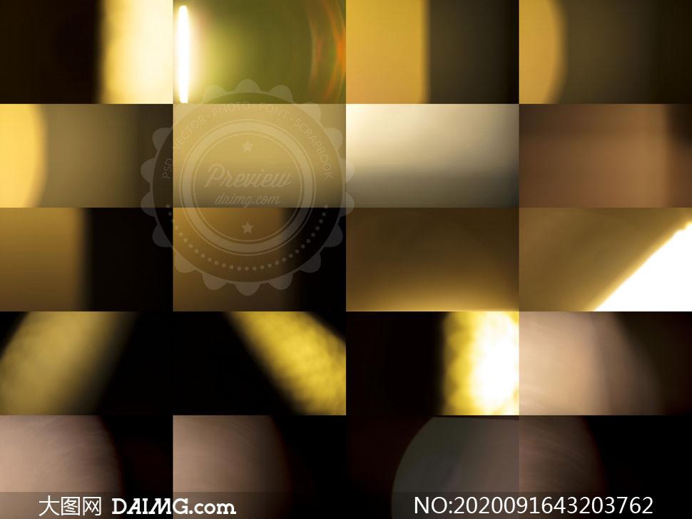 漏光光效元素合成叠加高清图片集V10