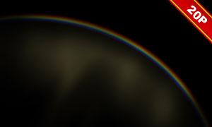彩虹美景主题叠加装饰高清图片素材