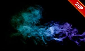 缭绕烟雾后期合成叠加高清图片集V02