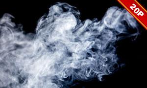 缭绕烟雾后期合成叠加高清图片集V03