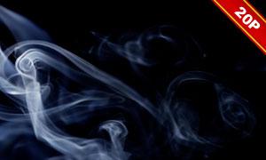 缭绕烟雾后期合成叠加高清图片集V04
