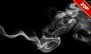 缭绕烟雾后期合成叠加高清图片集V05